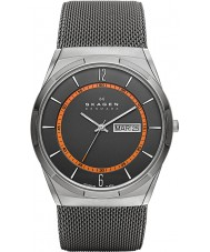 Skagen SKW6007 Mens aktiv grå mesh watch
