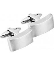 Inspirit STC14 Mens silver manschettknappar stål