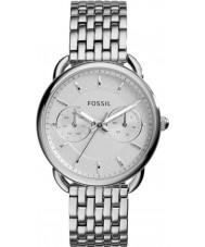 Fossil ES3712 Damer skräddarsydda silver stål armband klocka