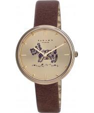 Radley RY2312 Damer rosmarin trädgårdar tan läderrem watch