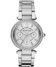 Michael Kors MK5615 Ladies parker silver stål armband klocka