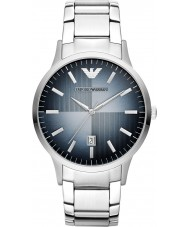 Emporio Armani AR2472 Mens klassiska silver stål watch