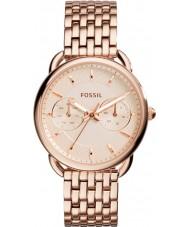 Fossil ES3713 Ladies skräddarsydda steg guld stål armband klocka