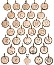 Edblad 116130235-H Charmentity h ökade guldpläterad liten pendel
