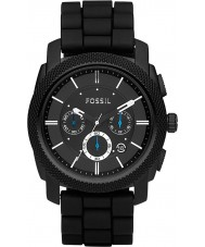 Fossil FS4487 Mens maskin kronograf svart klocka