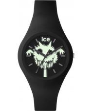 Ice-Watch 001446 Ice-spöke exklusiv svart silikon rem klocka