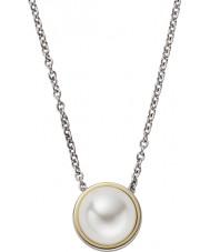 Skagen SKJ0880998 Damer Agnethe silver stål halsband med pärla pärla