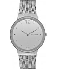 Skagen SKW2380 Ladies freja silver stål armband klocka