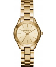 Michael Kors MK3512 Damer smal bana guldpläterad armband klocka