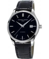 Frederique Constant FC-303B5B6 Mens klassiker index svart läderrem klocka