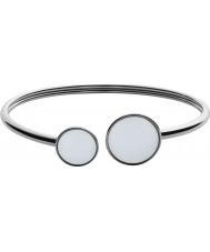 Skagen SKJ0788040 Damer hav glas silver stål polerad armband