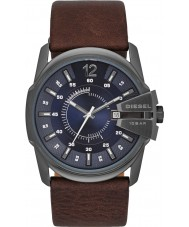 Diesel DZ1618 Mens Master Chief mörkbrunt läder Strap Watch