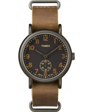 Timex TW2P86800 Mens weeke tan läderrem watch