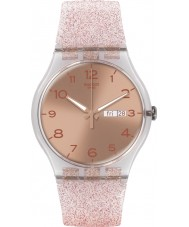 Swatch SUOK703 Ny gent - rosa glistar klocka