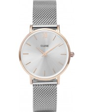 Cluse CL30025 Damer minuit mesh watch