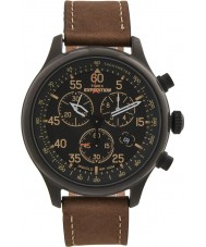 Timex T49905 Mens brun expedition fält chronographklockan
