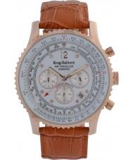 Krug-Baumen 600701DS Mens luft resande diamant klocka