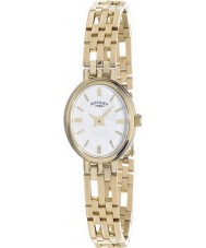 Rotary LB10090-02 Ladies ädelmetaller 9ct guld fallet watch