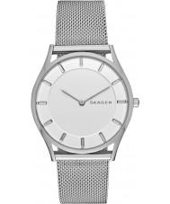 Skagen SKW2342 Damer smal holst silver stål armband klock