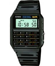 Casio CA-53W-1ER Mens begränsad upplaga tillbaka till framtiden räknaren svart klocka