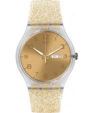 Swatch SUOK704 Nya gent - gyllene gnistan klocka