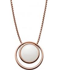Skagen SKJ0821791 Ladies hav glas steg guldpläterat halsband