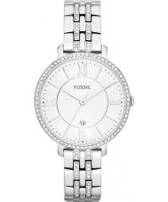 Fossil ES3545 Damer jacqueline silver tonen stål watch
