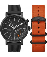 Timex TWG012600 Mens storstads giftset med extra nylonband