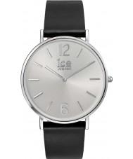 Ice-Watch 001514 Stad-utan-sol exklusiv svart läderrem klocka
