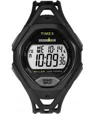 Timex TW5M10400 Mens ironman elegant svart harts rem klocka