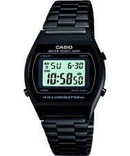 Casio B640WB-1AEF Mens retro samling digital svart klocka