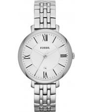 Fossil ES3433 Damer jacqueline silver tonen stål armband klocka