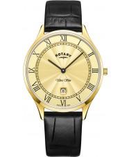 Rotary GS08303-03 Mens ultra slim klocka