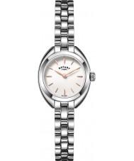 Rotary LB05013-02 Damer klockor petite silver tonen stål watch