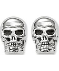 Thomas Sabo H1731-001-12 Silver skalle örhängen