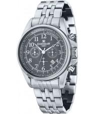 Thomas Earnshaw ES-8028-33 Man commodore silver stål chronographklockan