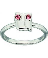 Orla Kiely R3494-54 Damer silver uggla ring - storlek n