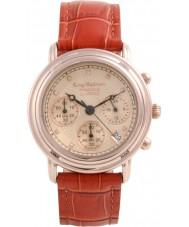 Krug-Baumen 150575DM Princip diamant mens ökade guld chronographklockan
