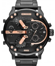 Diesel DZ7312 Mens mr pappa 2,0 svart ip multifunktions klocka