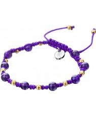 Shimla SH-910 Damer lila spunnet armband