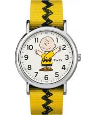 Timex TW2R41100 Peanuts weekender klocka