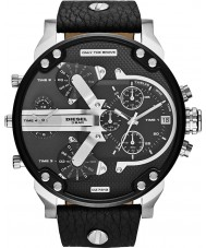 Diesel DZ7313 Mens mr pappa 2,0 svart multifunktions klocka