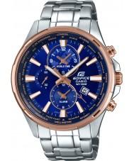 Casio EFR-304PG-2AVUEF Mens byggnad världstid silver stål watch