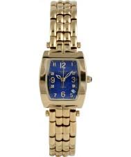 Krug-Baumen 1964DLG Smoking guld 4 diamant blå urtavla guld rem