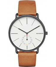 Skagen SKW6216 Man hagen tan läderrem watch