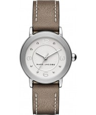 Marc Jacobs MJ1472 Damer Riley ljusbrunt läder Strap Watch