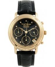 Krug-Baumen 150573DL Damer princip diamant svart chronographklockan