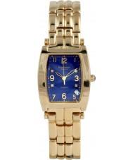 Krug-Baumen 1964DMG Smoking guld 4 diamant blå urtavla guld rem