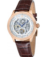 Thomas Earnshaw ES-8039-04 Mens akademi brunt krokodilläderband watch