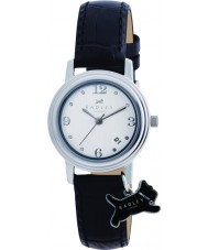 Radley RY2007 Damer charm svart läderrem klocka